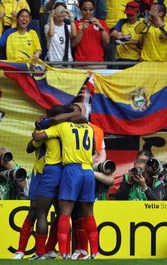 Ecuador celebra