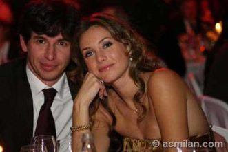 Albertini y su mujer (Albertini and wife)